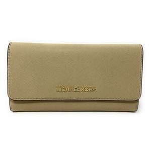 Michael Kors Jet Set Travel Trifold Wallet Bisque